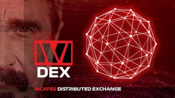 McAfeeDex exchange descentralizada Ethereum criptomoedas John McAfee