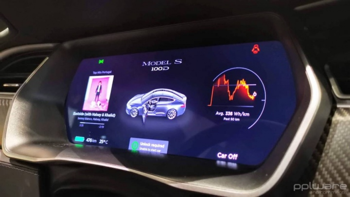 Tesla autonomia software Model X carros