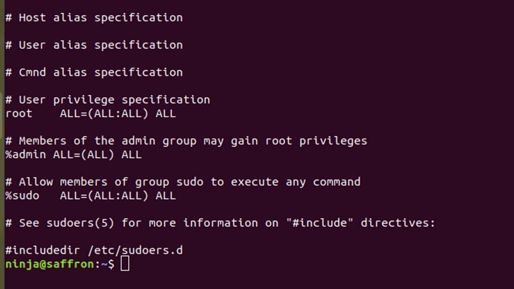 sudo linux root falha segurança