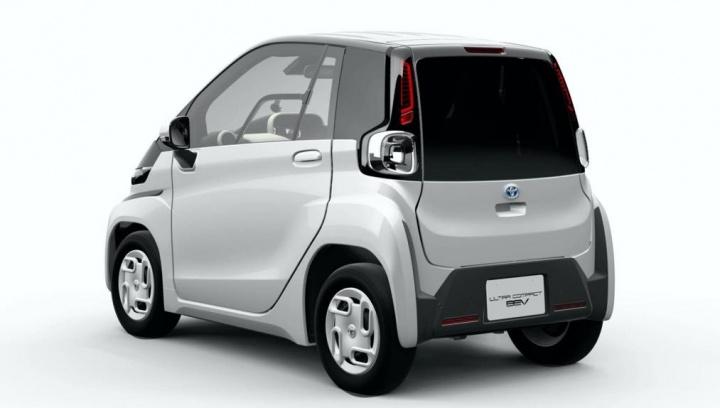 Ultra-compact BEV: Mini elétrico da Toyota mais pequeno que um Smart