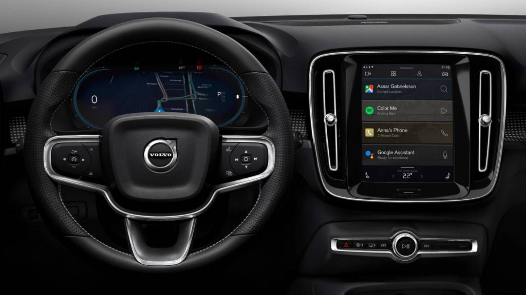 Volvo XC40 Automotive OS Android Googe carros