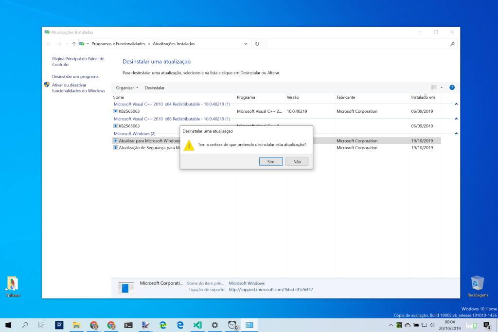 Windows 10 ATP atualização