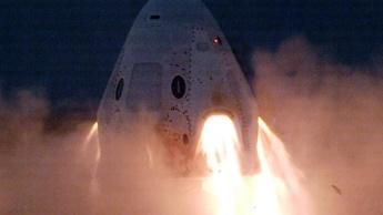 Teste de segurança à Crew Dragon da SpaceX foi adiado para hoje devido à meteorologia