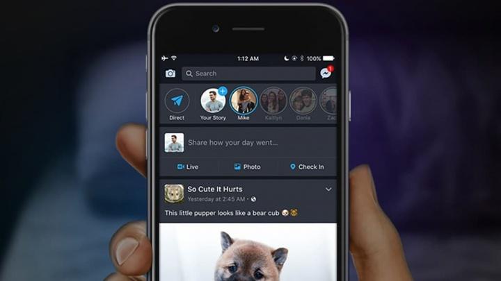 Facebook está a estrear o dark mode na sua app para Android