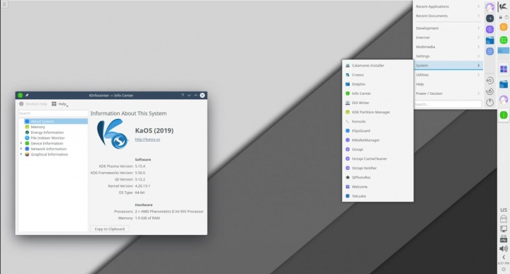 KaOS 2019.10: Distro inspirada no Arch Linux para totós