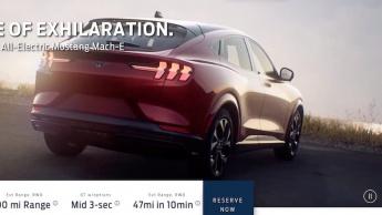 Ford divulga antecipadamente todos os pormenores sobre o SUV Mustang Mach-E
