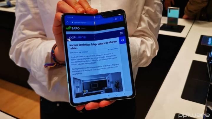 Samsung Galaxy Fold Portugal preço venda