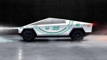 Encomendas da pickup Tesla Cybertruck continuam a aumentar... E até a polícia do Dubai quer um! Elon Musk