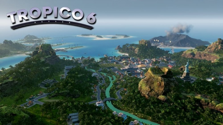 Imagem do jogo Tropico 6 que o desafia a criar uma ilha de paraíso