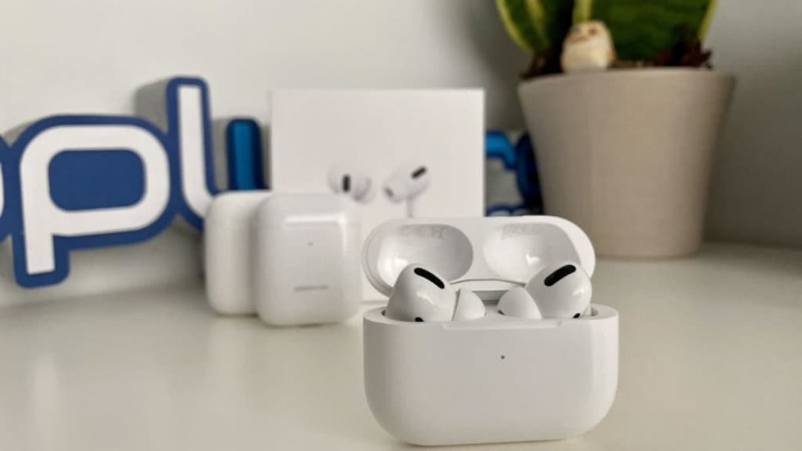 AirPods Pro Apple firmware ruído versão