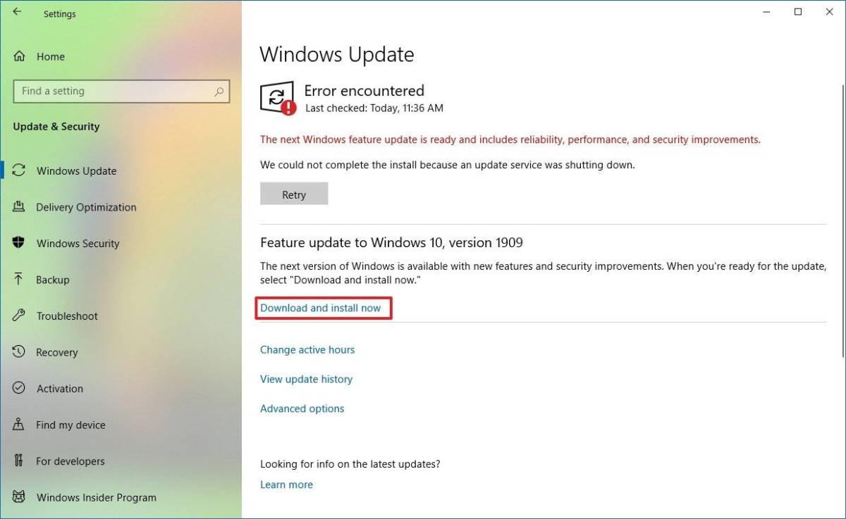 Windows 10 atualização Microsoft ferramentas novembro