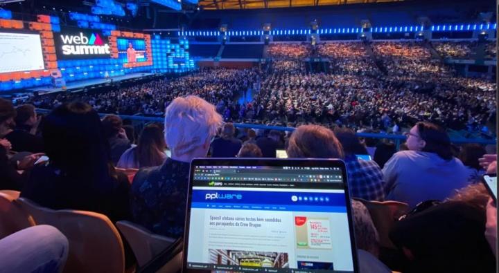 Web Summit: Mega cobertura Wi-Fi e Altice Arena com 5G da Altice Portugal