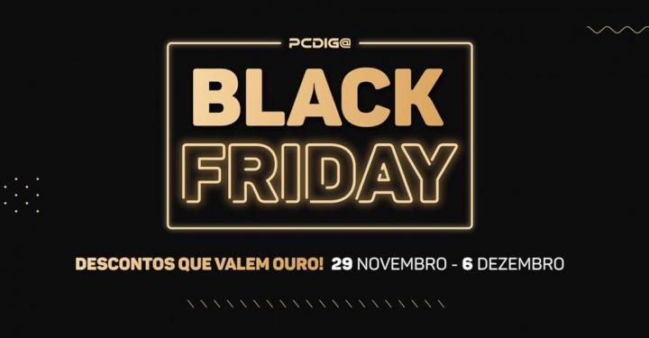 PCDIGA prepara-se para o sua melhor Black Friday de sempre