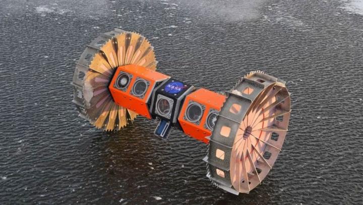 Imagem Rover BRUIE da NASA para explorar EUROPA