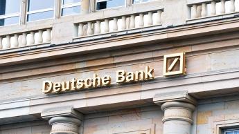 Imagem fachada do banco Deutsche Bank
