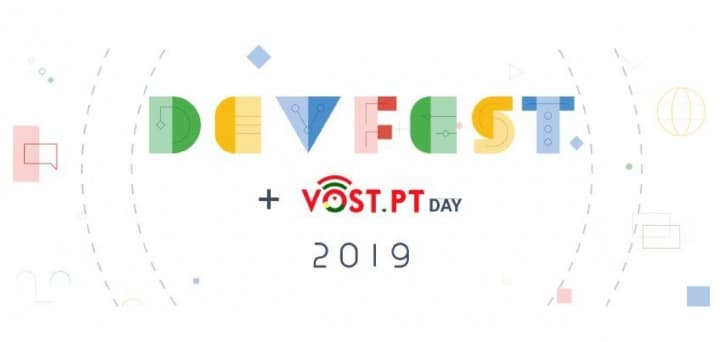 GDG DevFest Lisboa'19 + VOST DAY já em dezembro
