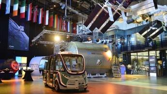 Imagem do carro autonomo da ESA, o Orbiter