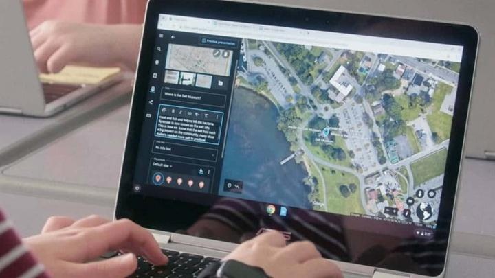 Google Earth mapas apresentações ferramentas