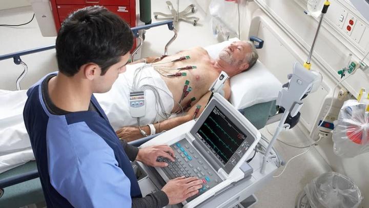 Imagem ECG analisado pela Inteligência Artificial
