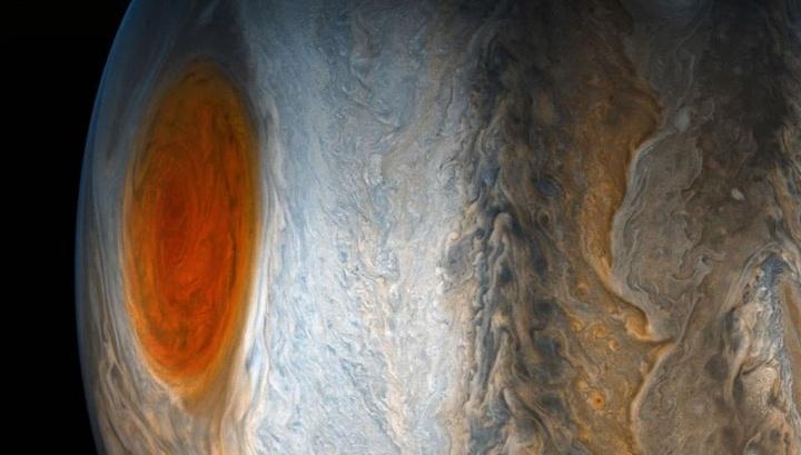 Imagem Jípiter e a sua grande mancha vermelha