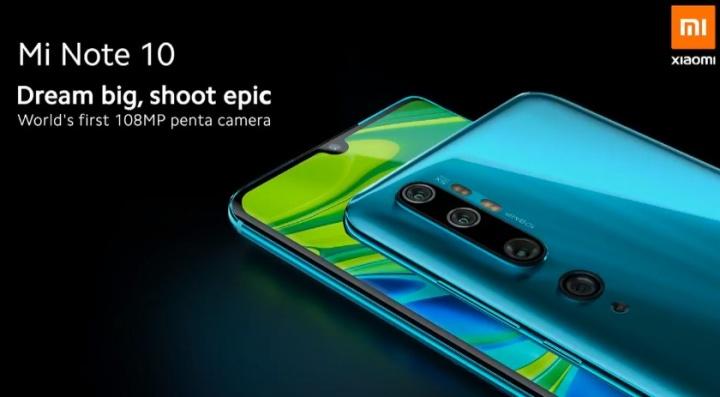 É oficial, chegou o Xiaomi Mi Note 10 ao mercado global a partir de 549 €