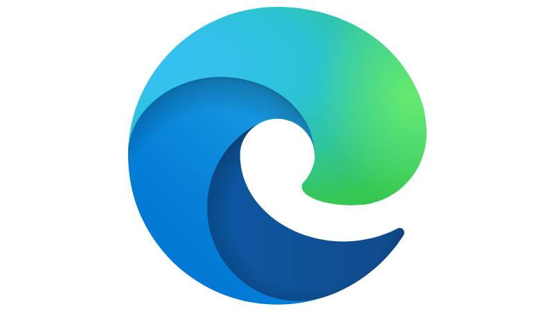 Edge logótipo Microsoft Internet browser