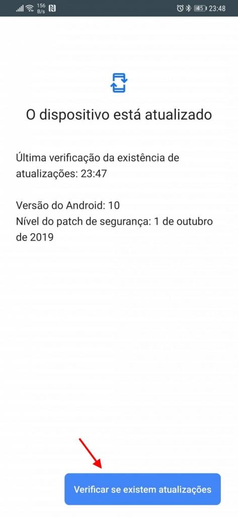 Android 10 Play Store atualizações Google segurança