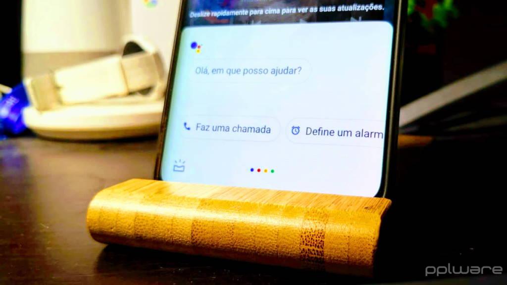 Google Assistente respostas smartphone silêncio