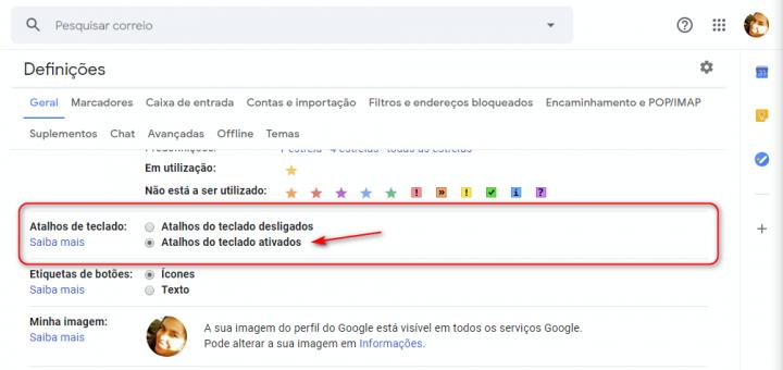 10 atalho de teclado essenciais para compor e-mails no Gmail