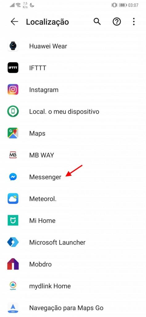 Android 10 permissões localização Google privacidade