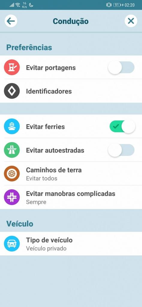 Google Maps Waze autoestradas portagens viagem