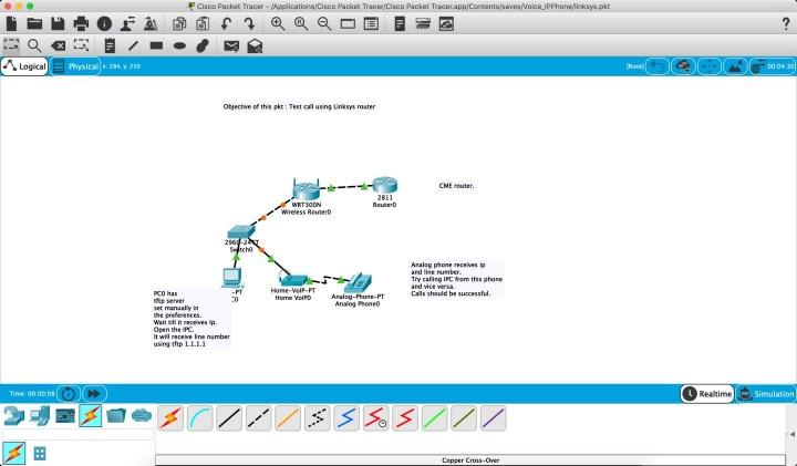 Transforme-se num guru das redes no macOS com o Packet Tracer