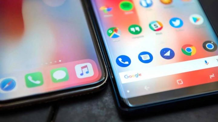 Huawei Samsung Apple smartphones mercado