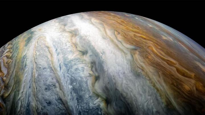 Imagem do gigantes gasoso Júpiter