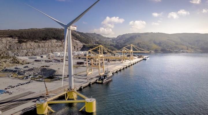 Maior turbina eólica do mundo instalada em Portugal
