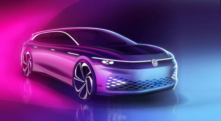 Volkswagen ID. Space Vizzion: a carrinha elétrica para atacar o segmento familiar