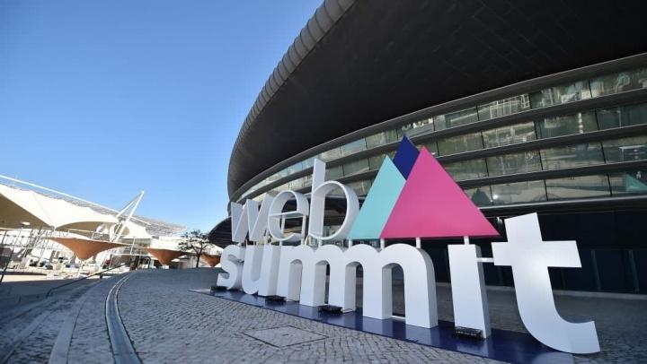 Imagem entrada para a Web Summit que terá 5G da NOS