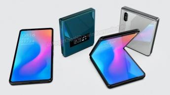 Xiaomi smartphone dobrável conceito design