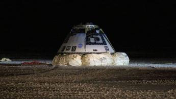 Depois de missão falhada, a cápsula Boeing CST-100 Starliner conseguiu regressar à Terra NASA ISS