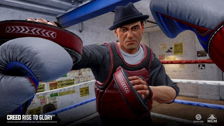 Imagem do jogo de boxe Creed: Rise to Glory
