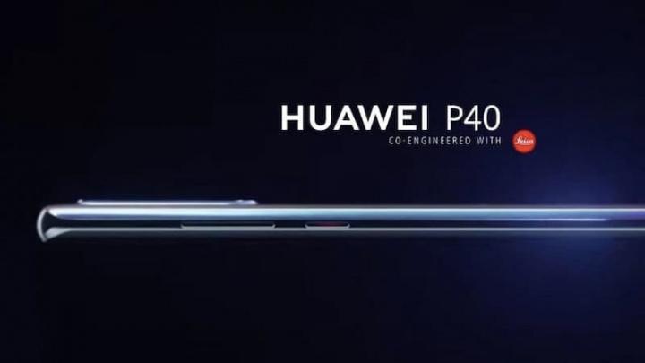 Imagens computadorizadas do Huawei P40 revelam vários elementos do seu design