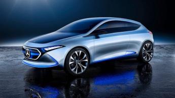 Mercedes desvenda o futuro EQA, carro elétrico que deve chegar ao mercado em 2020