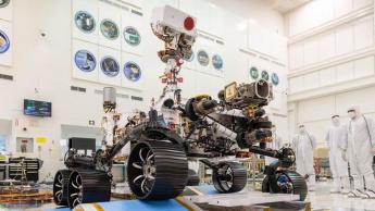 """Rover Mars 2020 da NASA passa no primeiro """"exame de condução"""" para circular em Marte"""