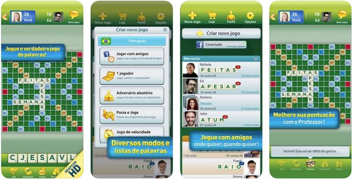 Jogos Android e iOS - SCRABBLE