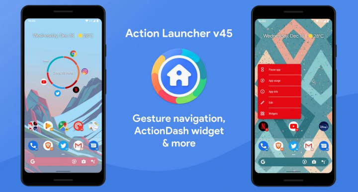Action Launcher gets gesture navigation from Android 10. Install now!