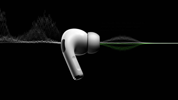 Imagem que ilustra recorde de menor latência nos AirPods Pro da Apple