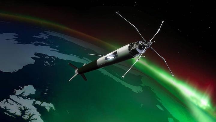 Ilustração da NASA sobre missões para estudar Cúspides Polares