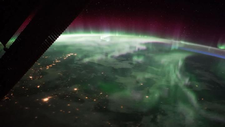 Imagem da NASA mostra uma nova aurora boreal na Terra