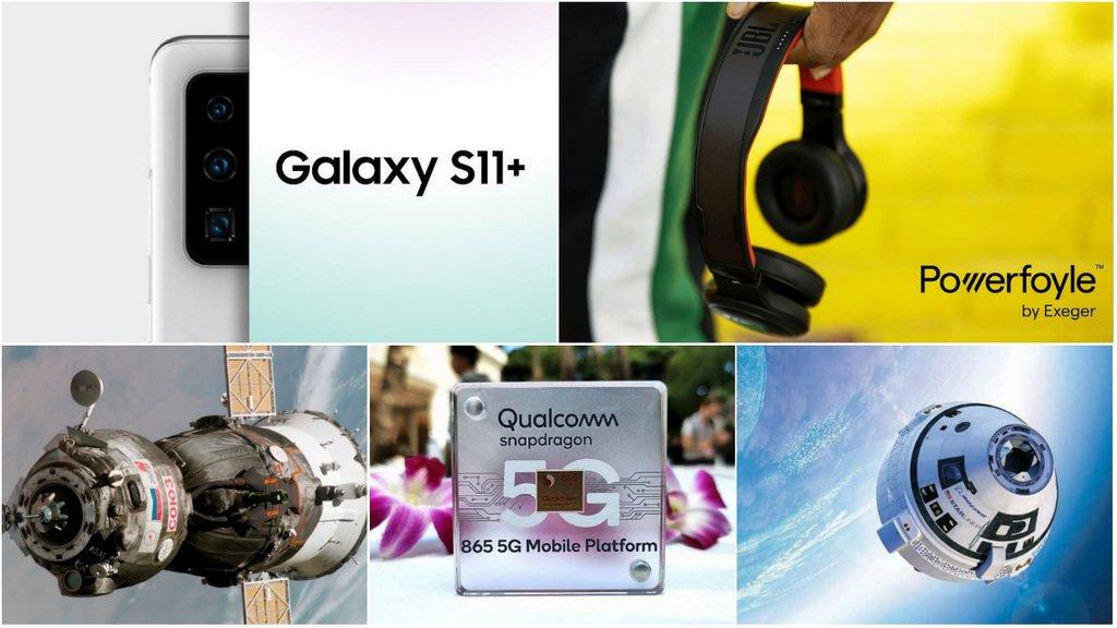 E os destaques tecnológicos da semana que passou foram... - Galaxy S11, AMD, Xiaomi, boeing