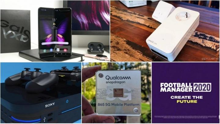 E os destaques tecnológicos da semana que passou foram... - samsung galaxy fold google amd snapdragon